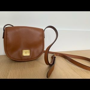 Ralph Lauren - Crossbody bag(small)-Brown leather